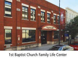 1st Baptist Church Capital Fest Meeting Place