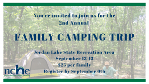 Camping field trip 2019 - North Carolinians for Home Education