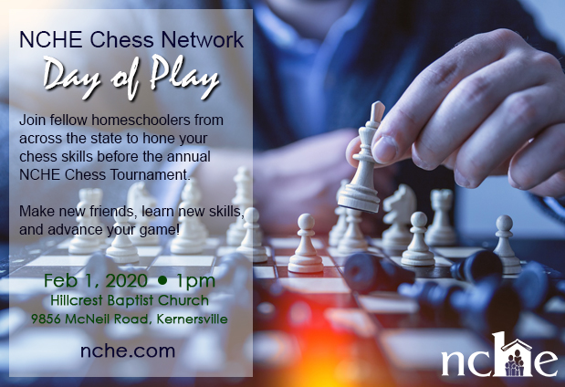Day of Play Chess Tournament 2020