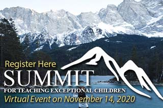 Save the Date - Summit for Homeschooling Exceptional Children- November 14, 2020