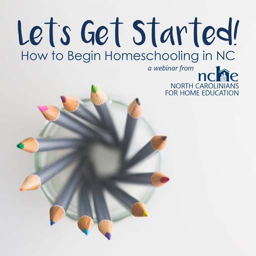 Let's Get Started: How to Homeschool Image