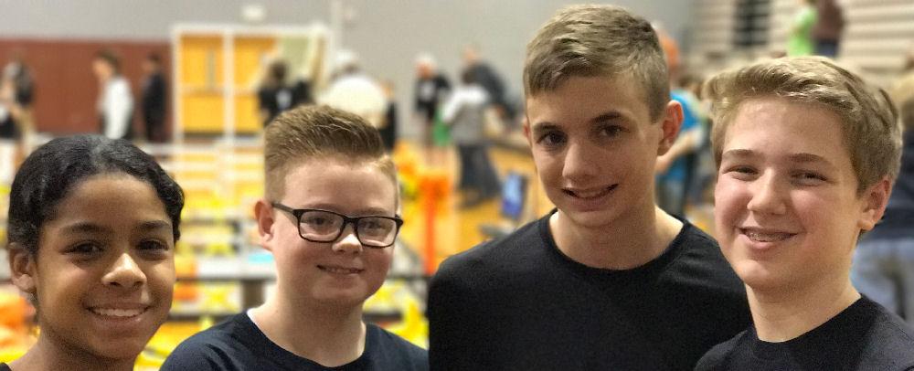 Homeschoolers Win Sportsmanship Award at State Robotics Qualifying Event