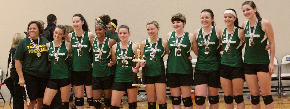 NCHE Athletics: Asheville Three-Peats in Varsity Volleyball at the State Tournament